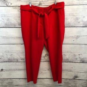 Ann Taylor LOFT Plus Womens 20 Marisa Ankle Pants